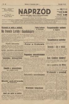 Naprzód : organ Polskiej Partji Socjalistycznej. 1938, nr96