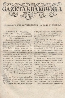 Gazeta Krakowska. 1820 , nr87