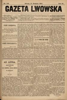 Gazeta Lwowska. 1903, nr186