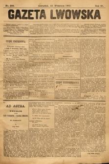 Gazeta Lwowska. 1903, nr206