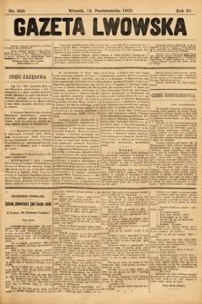Gazeta Lwowska. 1903, nr233