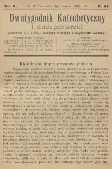 Dwutygodnik Katechetyczny i Duszpasterski. R.5, 1901, nr6