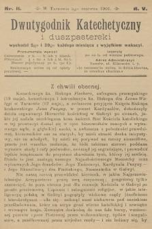 Dwutygodnik Katechetyczny i Duszpasterski. R.5, 1901, nr11
