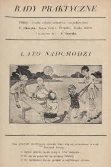 Rady Praktyczne. [1930], nr7