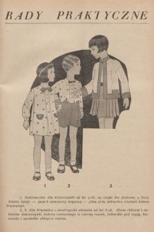 Rady Praktyczne. [1931], nr18