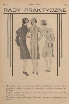 Rady Praktyczne. [1935], nr6