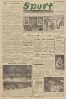 Sport : pismo Głównego Komitetu Kultury Fizycznej. 1951, nr6