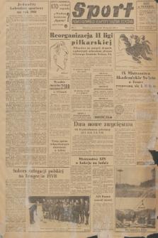 Sport : pismo Głównego Komitetu Kultury Fizycznej. 1951, nr9
