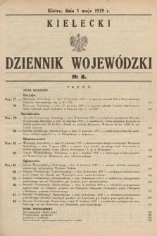 Kielecki Dziennik Wojewódzki. 1939, nr8
