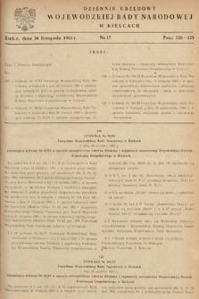 Dziennik Urzędowy Wojewódzkiej Rady Narodowej w Kielcach. 1963, nr17