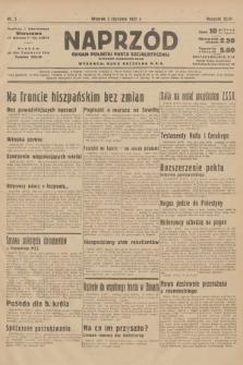 Naprzód : organ Polskiej Partji Socjalistycznej. 1937, nr5