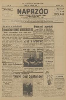 Naprzód : organ Polskiej Partji Socjalistycznej. 1937, nr254