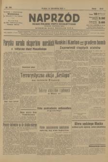 Naprzód : organ Polskiej Partji Socjalistycznej. 1937, nr285