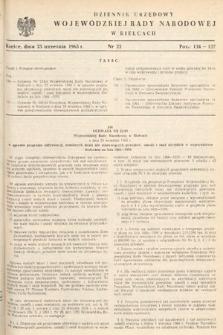 Dziennik Urzędowy Wojewódzkiej Rady Narodowej w Kielcach. 1965, nr22