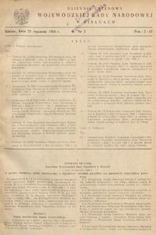 Dziennik Urzędowy Wojewódzkiej Rady Narodowej w Kielcach. 1966, nr2