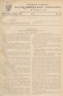 Dziennik Urzędowy Wojewódzkiej Rady Narodowej w Kielcach. 1966, nr5