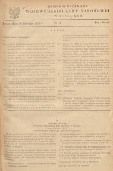 Dziennik Urzędowy Wojewódzkiej Rady Narodowej w Kielcach. 1966, nr11