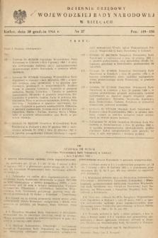 Dziennik Urzędowy Wojewódzkiej Rady Narodowej w Kielcach. 1966, nr27