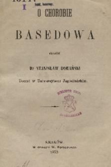 O chorobie Basedowa