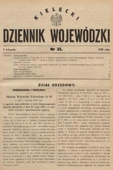 Kielecki Dziennik Wojewódzki. 1928, nr35