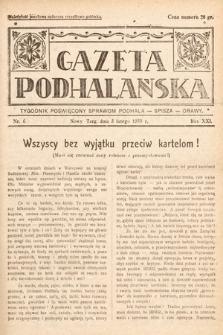 Gazeta Podhalańska : tygodnik poświęcony sprawom Podhala, Spisza, Orawy. 1933, nr6