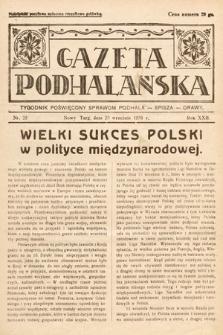 Gazeta Podhalańska : tygodnik poświęcony sprawom Podhala, Spisza, Orawy. 1934, nr25