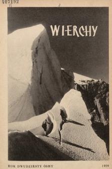 Wierchy : rocznik poświęcony górom. R. 28, 1959
