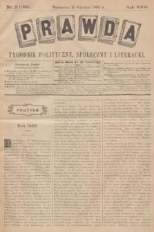 Prawda : tygodnik polityczny, społeczny i literacki. R.26, 1906, nr2