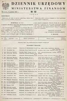 Dziennik Urzędowy Ministerstwa Finansów. 1965, nr10