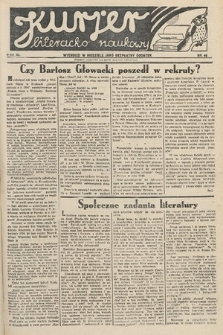 Kurjer Literacko-Naukowy. 1934, nr46