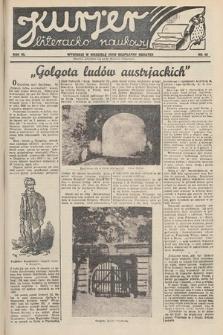 Kurjer Literacko-Naukowy. 1934, nr49