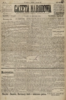 Gazeta Narodowa. 1899, nr1