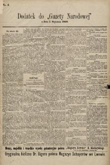 Gazeta Narodowa. 1899, nr2