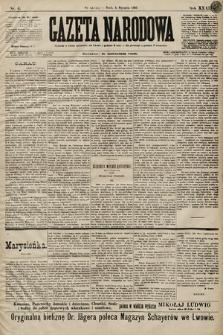 Gazeta Narodowa. 1899, nr4