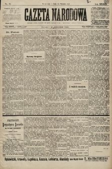 Gazeta Narodowa. 1899, nr11