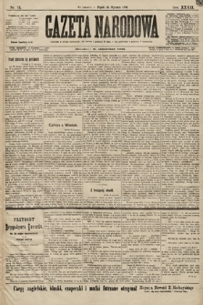 Gazeta Narodowa. 1899, nr13