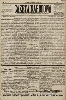 Gazeta Narodowa. 1899, nr14
