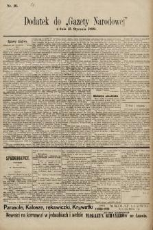 Gazeta Narodowa. 1899, nr16