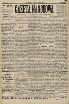 Gazeta Narodowa. 1899, nr17