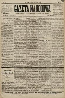 Gazeta Narodowa. 1899, nr18