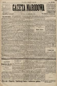 Gazeta Narodowa. 1899, nr21
