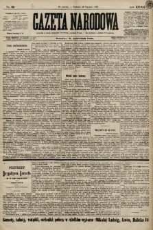Gazeta Narodowa. 1899, nr22