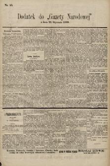 Gazeta Narodowa. 1899, nr23