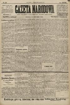 Gazeta Narodowa. 1899, nr24