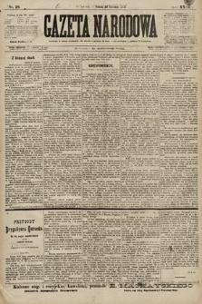 Gazeta Narodowa. 1899, nr28