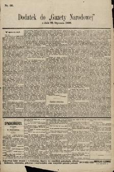Gazeta Narodowa. 1899, nr30