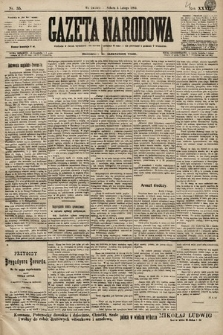 Gazeta Narodowa. 1899, nr35