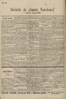 Gazeta Narodowa. 1899, nr37