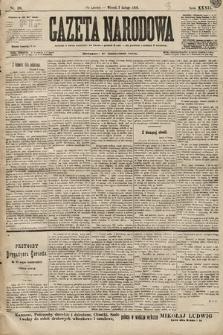 Gazeta Narodowa. 1899, nr38