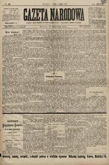 Gazeta Narodowa. 1899, nr39